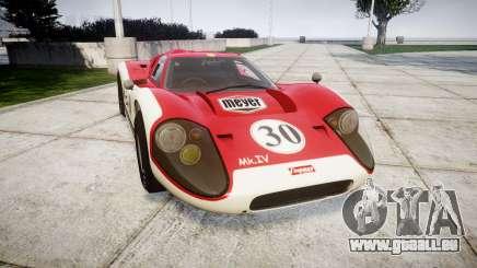 Ford GT40 Mark IV 1967 PJ Meyer 30 pour GTA 4