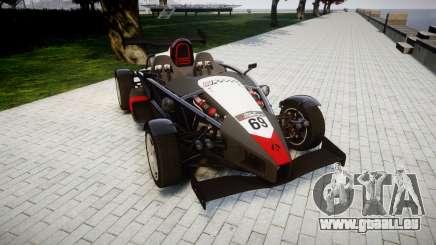 Ariel Atom V8 2010 [RIV] v1.1 Garton Racing Team für GTA 4