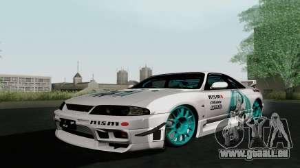 Nissan Skyline GT-R33 pour GTA San Andreas