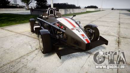 Ariel Atom V8 2010 [RIV] v1.1 FUEA Equipped pour GTA 4