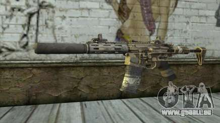 HoneyBadger from CoD Ghosts für GTA San Andreas