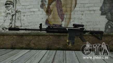 M4A1 from COD Modern Warfare 3 v2 für GTA San Andreas