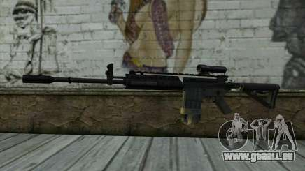 M4A1 from COD Modern Warfare 3 v2 pour GTA San Andreas