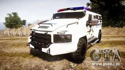 SWAT Van Police Emergency Service pour GTA 4