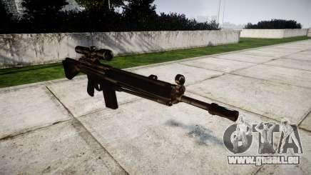 Fusil G3SG1 pour GTA 4