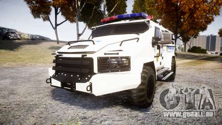 SWAT Van Police Emergency Service [ELS] pour GTA 4