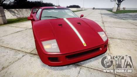 Ferrari F40 1987 [EPM] Tricolore für GTA 4
