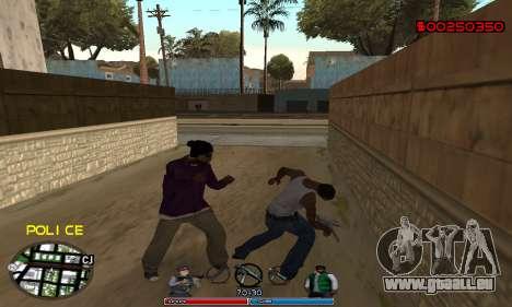 C-HUD Police für GTA San Andreas zweiten Screenshot