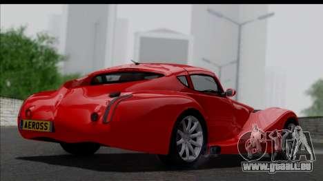 Morgan AeroSS 2013 v1.0 pour GTA San Andreas laissé vue