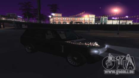 ENB et ColorMod pour les moyennes et faibles PC pour GTA San Andreas quatrième écran