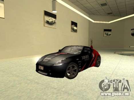 Nissan 370 Z Z34 2010 Tunable für GTA San Andreas Seitenansicht