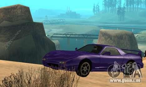 Beta ZR-350 für GTA San Andreas Motor