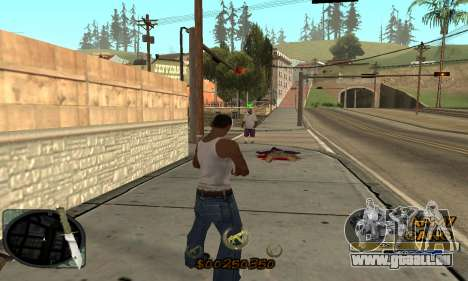 C-HUD Army Gang für GTA San Andreas her Screenshot