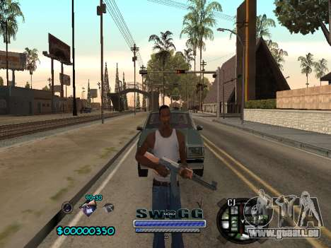 CLEO HUD SWAGG pour GTA San Andreas