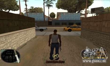 C-HUD Army Gang pour GTA San Andreas