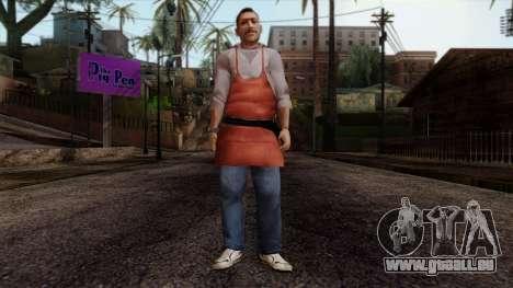 GTA 4 Skin 13 pour GTA San Andreas