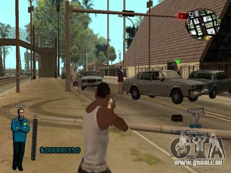 FBI HUD pour GTA San Andreas deuxième écran