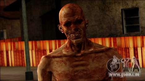 Outlast Skin 4 pour GTA San Andreas troisième écran