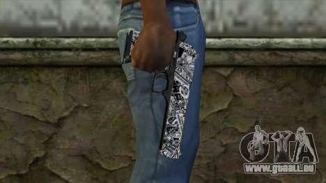 Neuer Gun v2 für GTA San Andreas dritten Screenshot