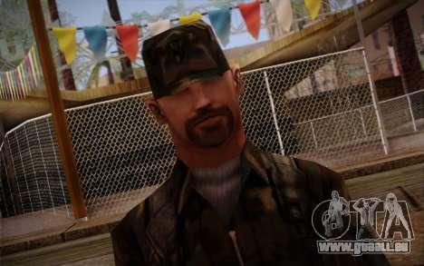 Soldier Skin 3 für GTA San Andreas dritten Screenshot