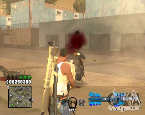 C-HUD Big Cull für GTA San Andreas dritten Screenshot