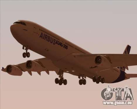 Airbus A340-300 Airbus S A S House Livery für GTA San Andreas Motor
