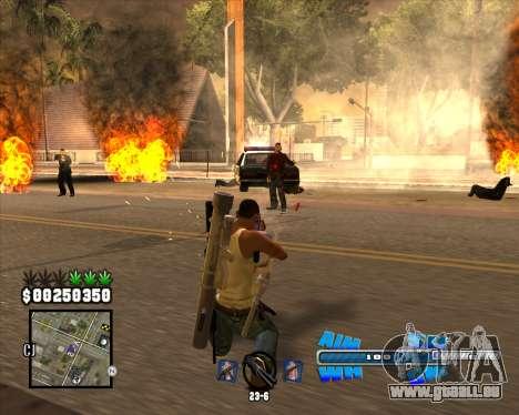 C-HUD Big Cull pour GTA San Andreas