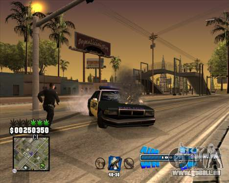 C-HUD Big Cull für GTA San Andreas her Screenshot