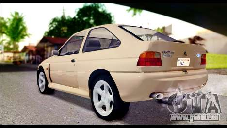 Ford Escort RS Cosworth [HQLM] für GTA San Andreas linke Ansicht