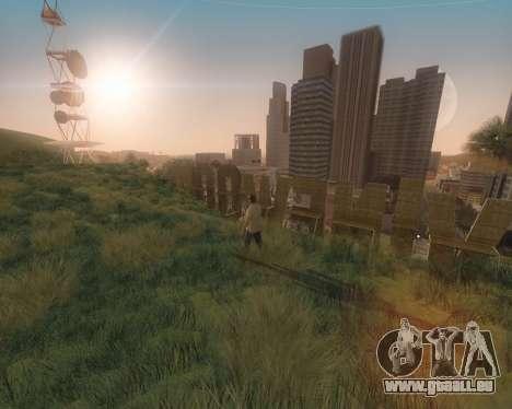 GTA 5 ENB pour GTA San Andreas quatrième écran