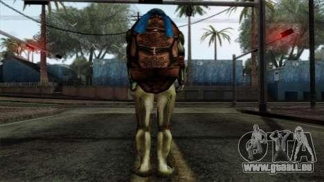 Leo (Tortues Ninja) pour GTA San Andreas deuxième écran