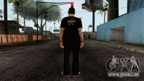 GTA 4 Skin 12 pour GTA San Andreas deuxième écran