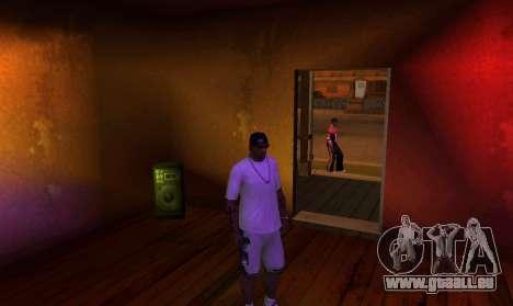 New OG Lock House pour GTA San Andreas quatrième écran