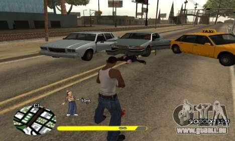 C-HUD Vagos für GTA San Andreas dritten Screenshot