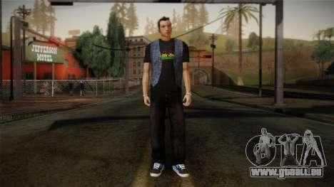 Gedimas Jamal Skin HD pour GTA San Andreas