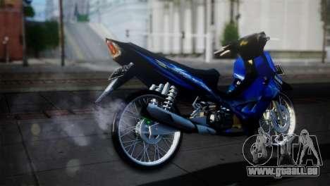 Yamaha Jupiter Z Burhan für GTA San Andreas zurück linke Ansicht