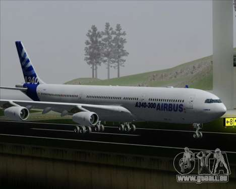 Airbus A340-300 Airbus S A S House Livery pour GTA San Andreas roue