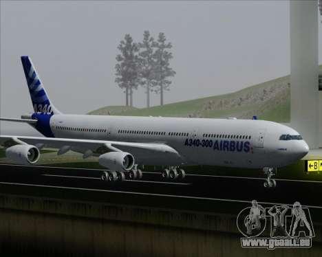 Airbus A340-300 Airbus S A S House Livery für GTA San Andreas Räder