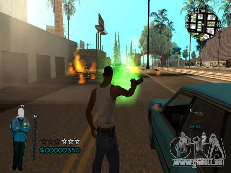 FBI HUD für GTA San Andreas her Screenshot