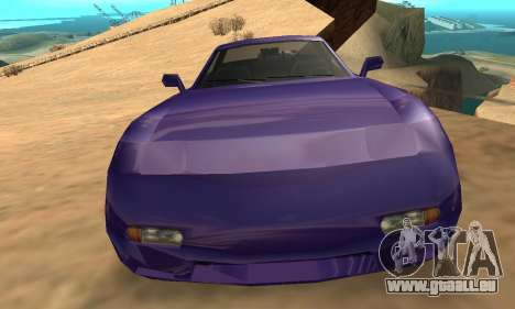 Beta ZR-350 für GTA San Andreas Innen