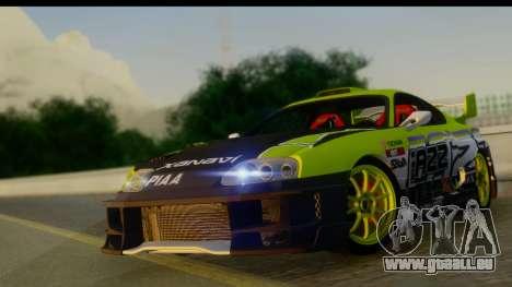 Toyota Supra Drift pour GTA San Andreas