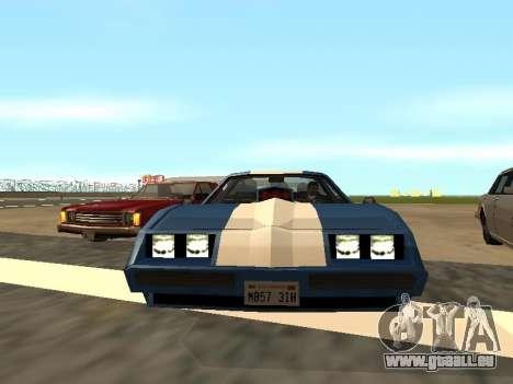 New Phoenix pour GTA San Andreas sur la vue arrière gauche