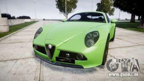 Alfa Romeo 8C Competizione 2008 pour GTA 4