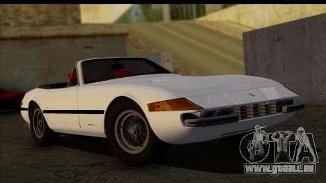 Ferrari 365 GTS4 Daytona (US-spec) 1971 [HQLM] für GTA San Andreas
