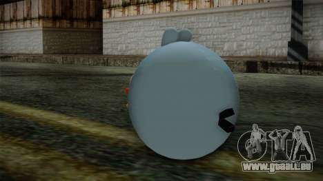 Blue Bird from Angry Birds für GTA San Andreas zweiten Screenshot
