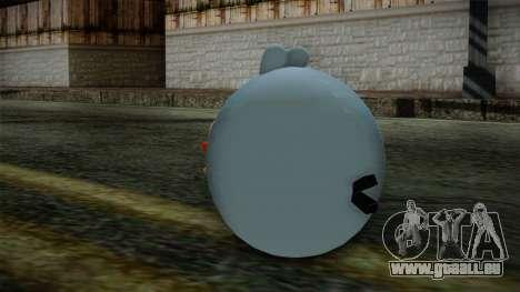 Blue Bird from Angry Birds pour GTA San Andreas deuxième écran