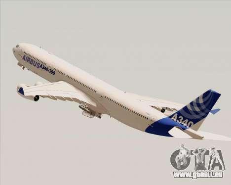 Airbus A340-300 Airbus S A S House Livery für GTA San Andreas