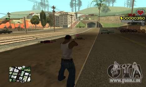 C-HUD By Fernando pour GTA San Andreas troisième écran