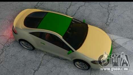 GTA 5 Maibatsu Penumbra für GTA San Andreas Rückansicht