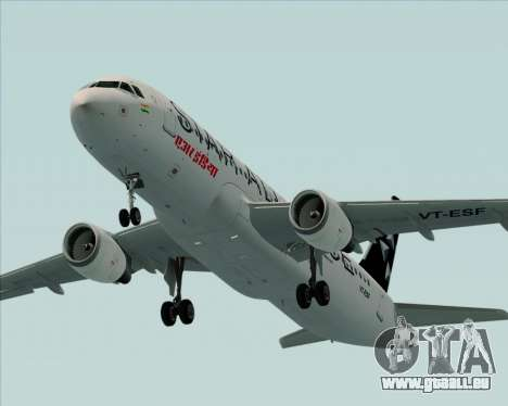 Airbus A320-200 Air India (Star Alliance Livery) für GTA San Andreas Motor